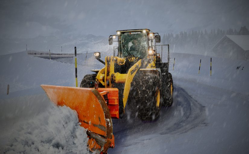 Boka in vinterns snöröjning i Stockholm!